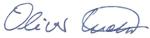 Unterschrift Oliver Kohl